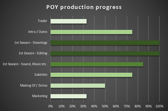 POY production progress june 2013